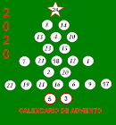 Calendario adviento miniaturas
