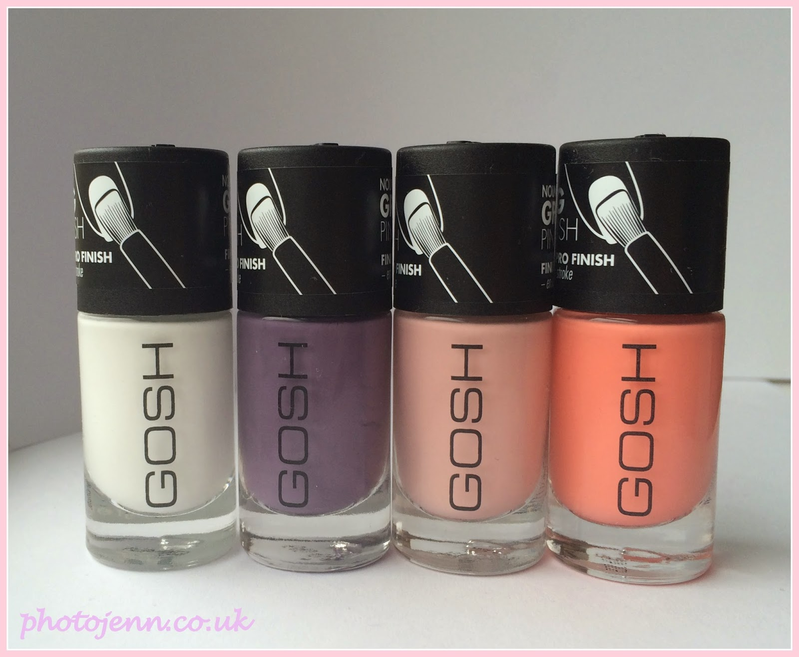 Photo -Jenn- ic: New GOSH Nail Lacquers ready for Spring