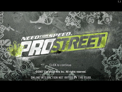 Need for Speed Prostreet PC Games for windows