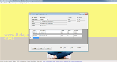 Download Gratis Aplikasi Retail VB .Net - SQL Server