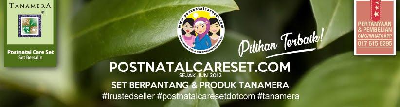 TANAMERA Postnatal Care Set / Set Bersalin - Beli Online atau Offline (COD) - Terbaik Malaysia