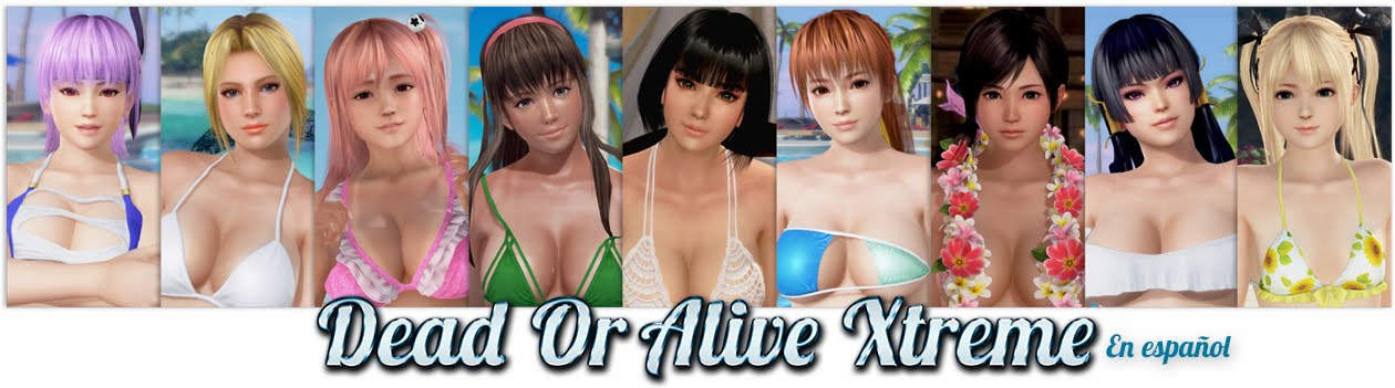 Dead or Alive Xtreme 3 - Ayane Hitomi Kokoro Helena, Kasumi Momiji Nyutengu Honoka & Marie Rose