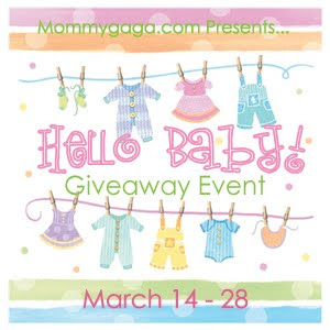 Hello Baby! Giveaway Event | Mommygaga.com