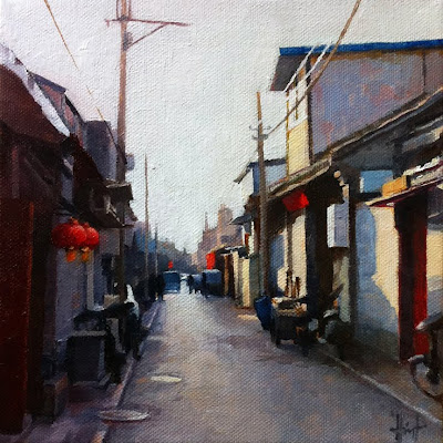 Beijing Hutong by Liza Hirst