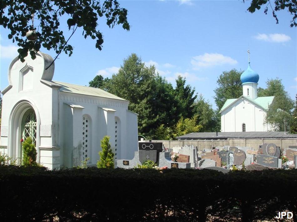 de 1917 avaient trouvé refuge à la Maison Russe, créée ici par ~ Maison Russe Sainte Genevieve Des Bois