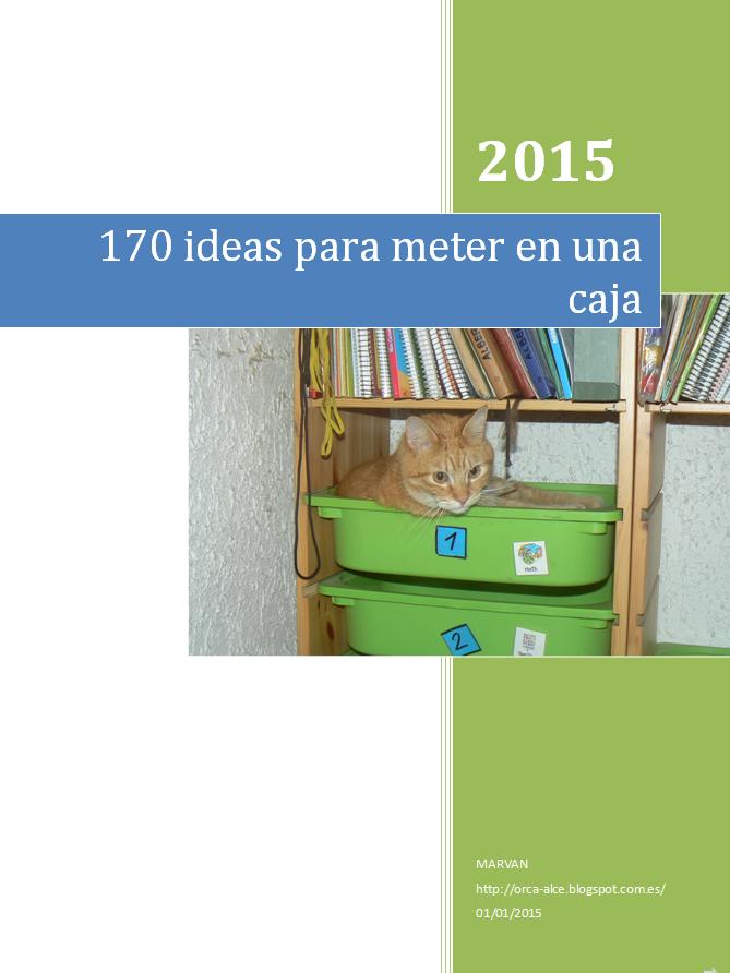 A la venta nuestro dossier: 170 ideas para meter en una caja