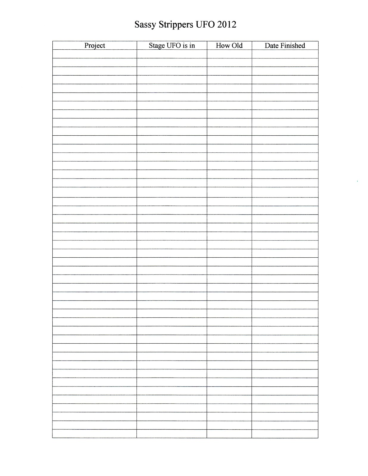 email sign up list template