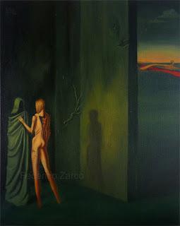 imagen de la aparicion y la vida nocturna obra al oleo sobre tela