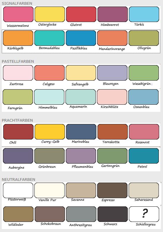 Neue Dusche Planen : Miri – MitLiebegemacht: Farben nur so lange der Vorrat reicht! Baiblau
