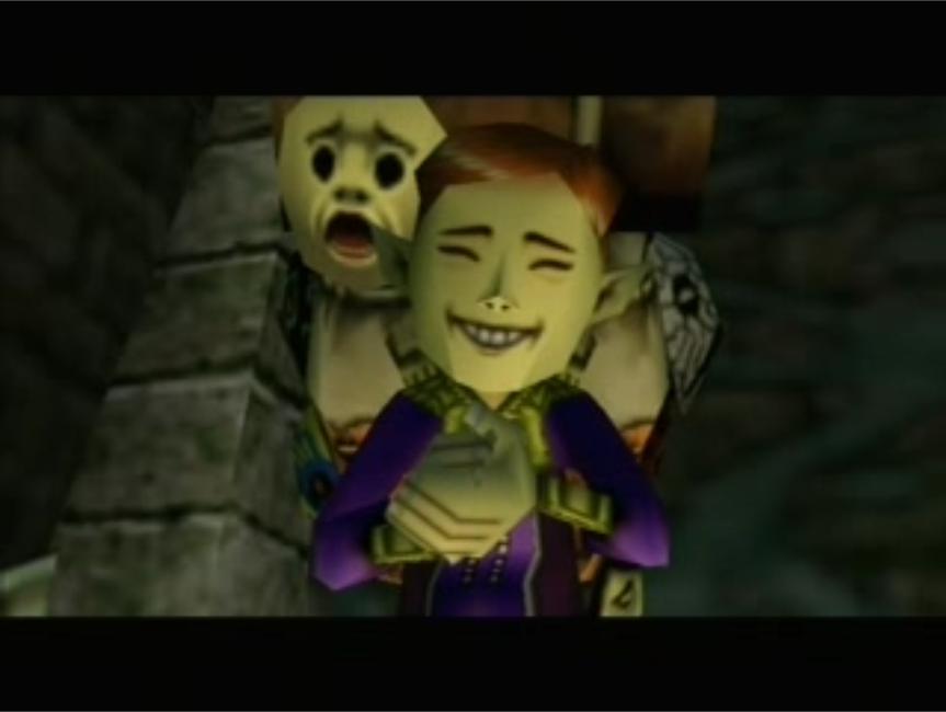 Happy Mask Salesman Strange Moments in Gam...