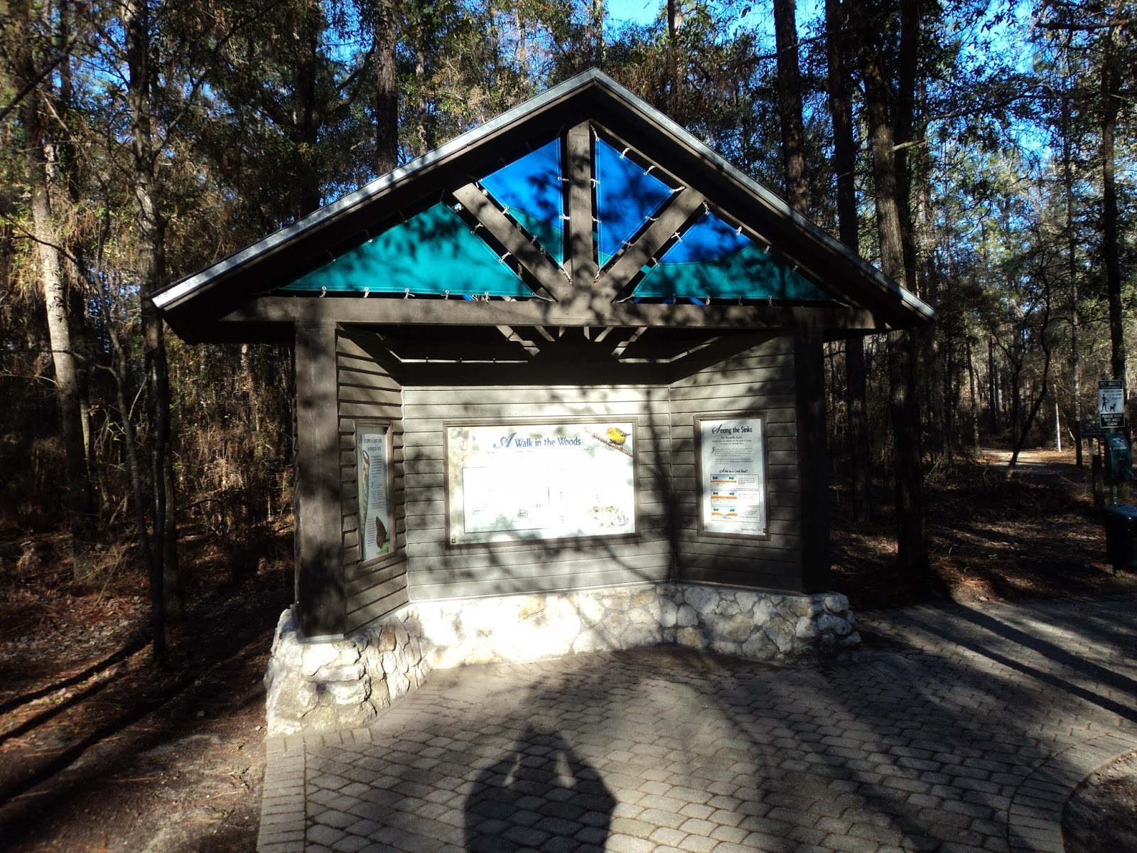 Information Kiosk At Trailhead