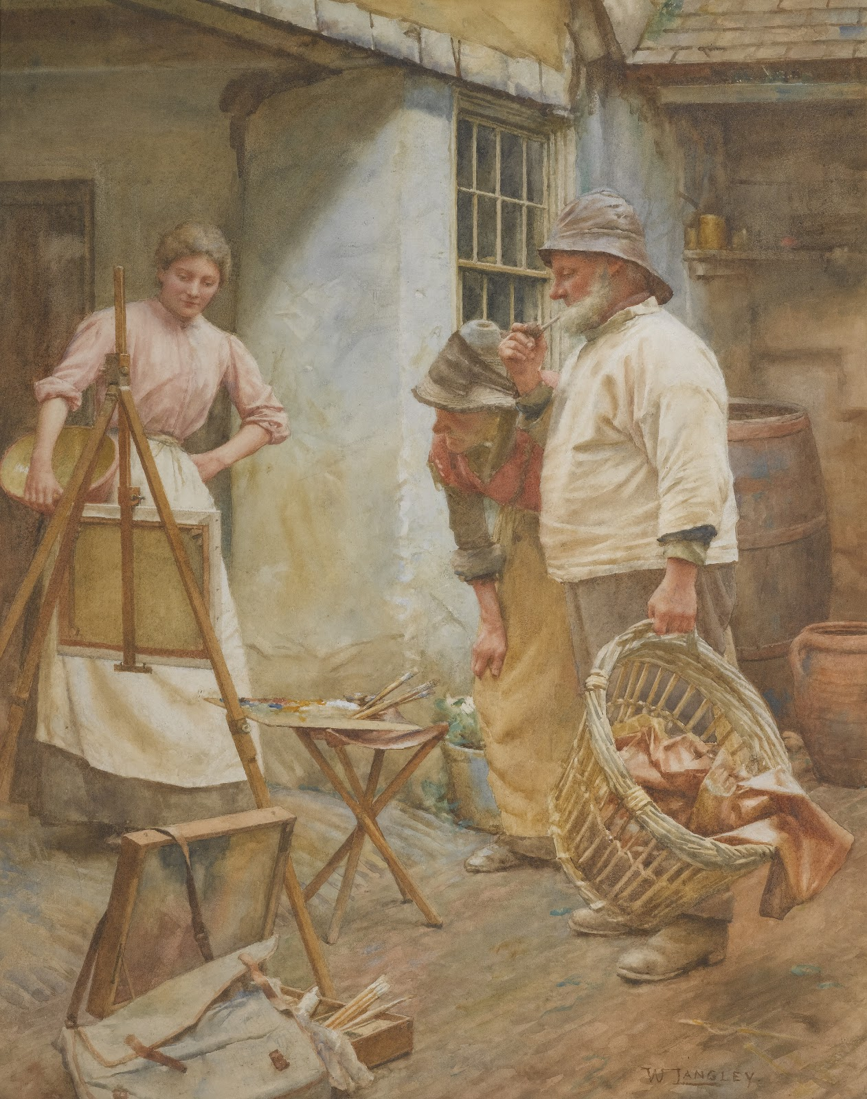 Walter Langley Local Critics