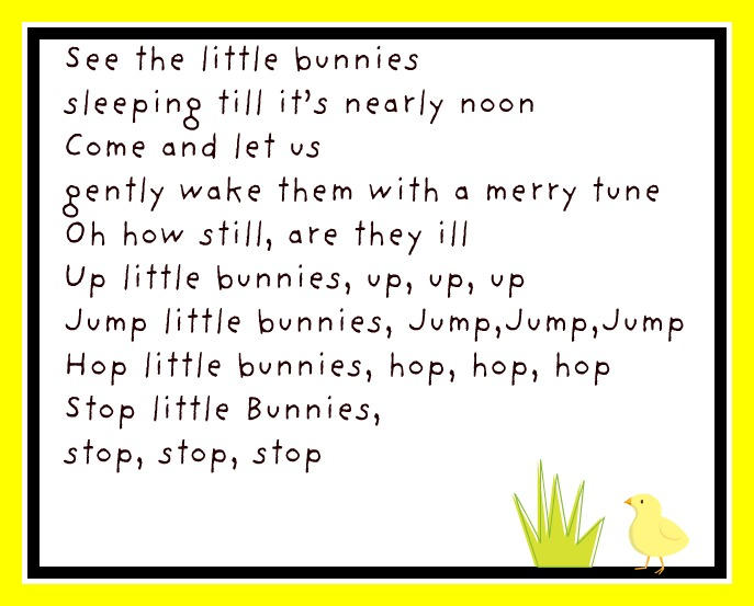 Here is the little sleeping bunnies song with Little man doing the ...