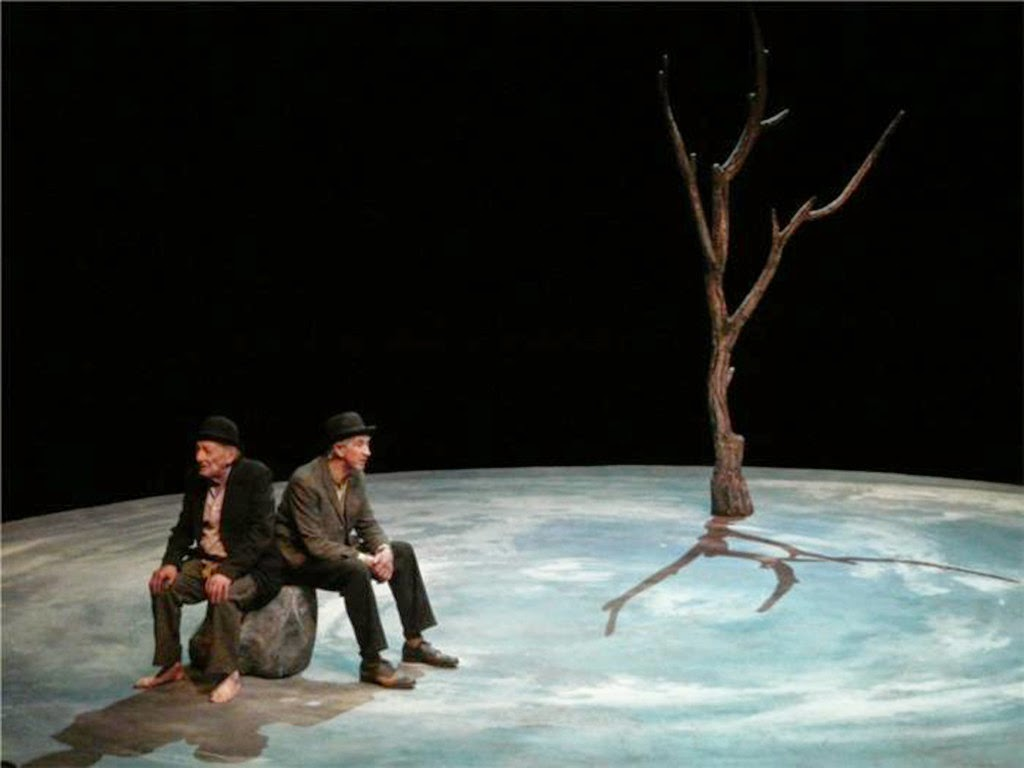 an analysis of the role of godot in samuel becketts play waiting for godot
