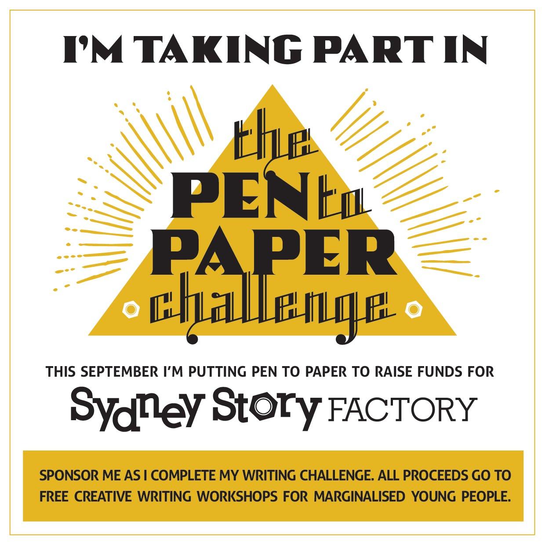 Pen to Paper Challenge