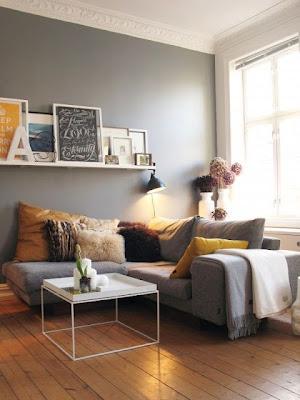 De andar por casas: gama de grises para tus paredes