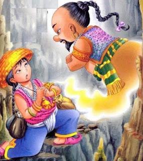 Aladin ou la lampe mystérieuse
