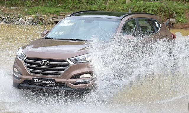 Hyundai Tucson 2016 - trải nghiệm cảm giác lái thể thao