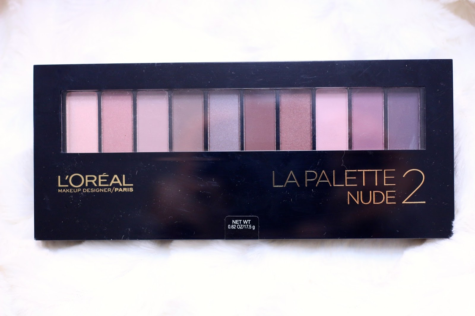LOreal La Palette Nude 2 Review & Swatches - Musings of a
