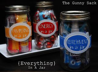 Handmade Gifts In A Jar ~ Pampering, Refreshment and Energy