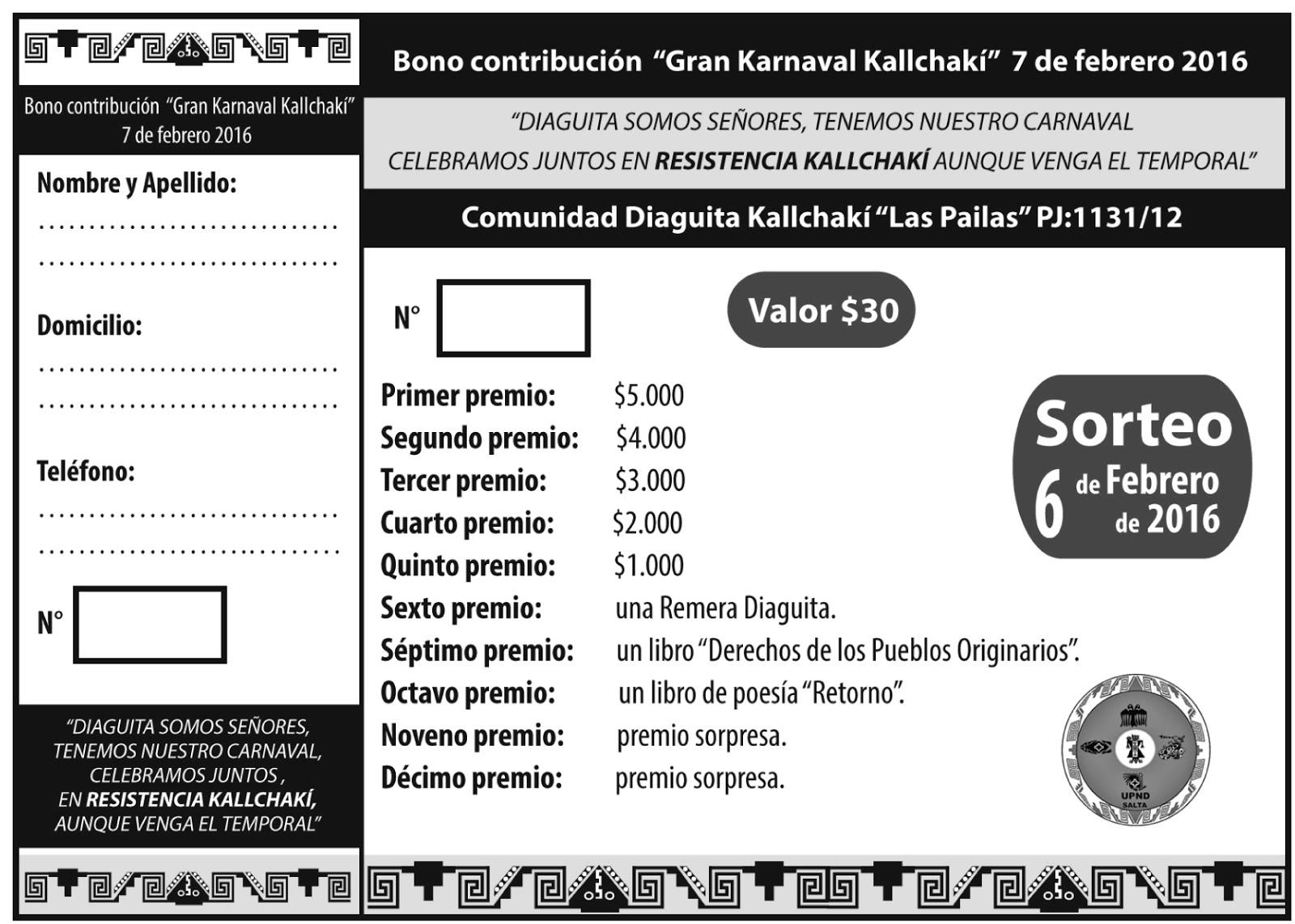 Unin De Los Pueblos De La Nacin Diaguita Salta UPNDS Enero 2016