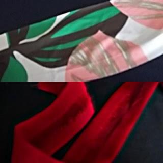 Pulseiras Tetra Pak e sobras de tecidos