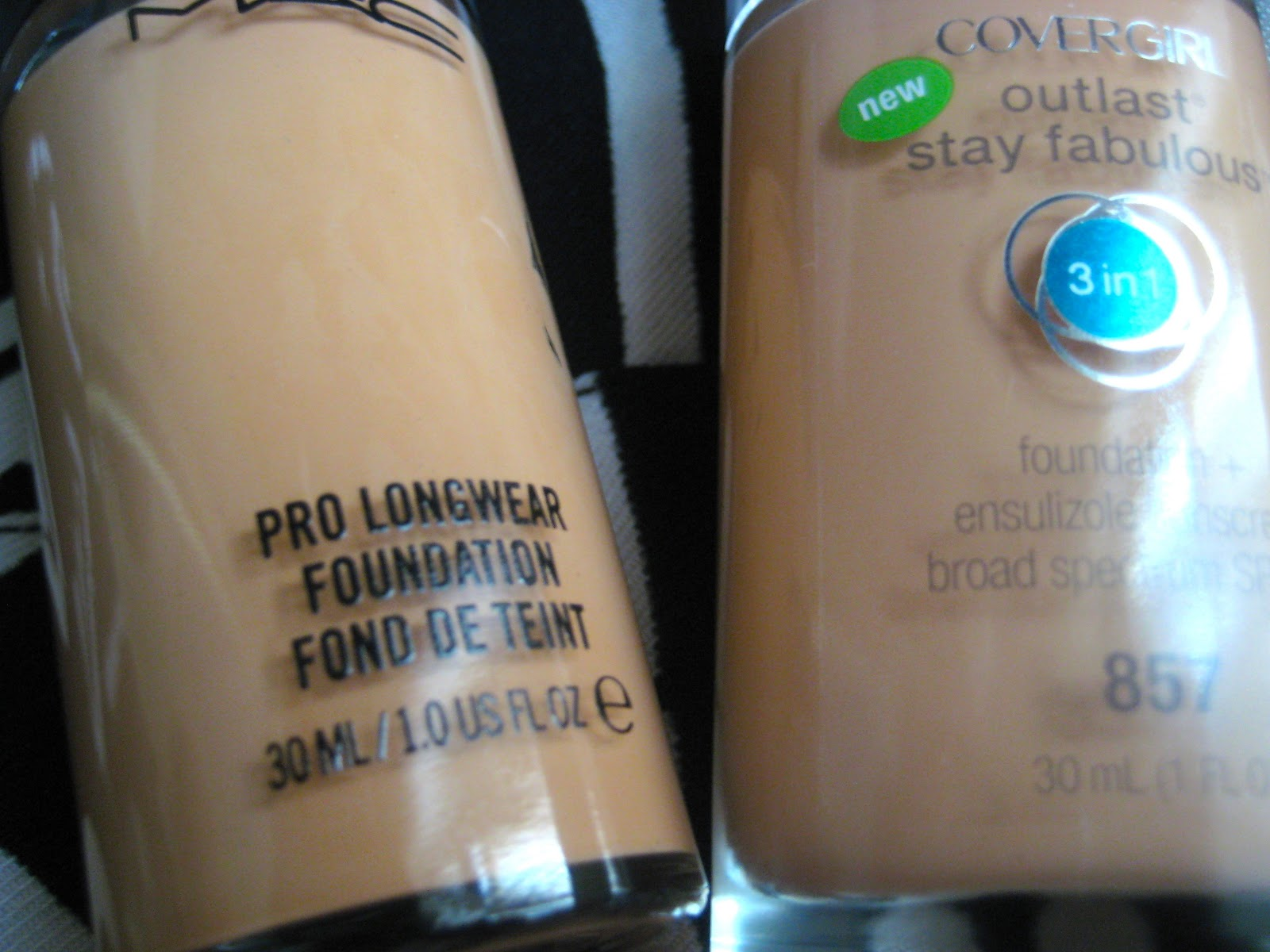 Cover Girl Outlast Stay Fabulous 3-In-1 Foundation Review: Great Drugstore Foundation for Medium/Olive/Yellow/NC35-NC42 Skin