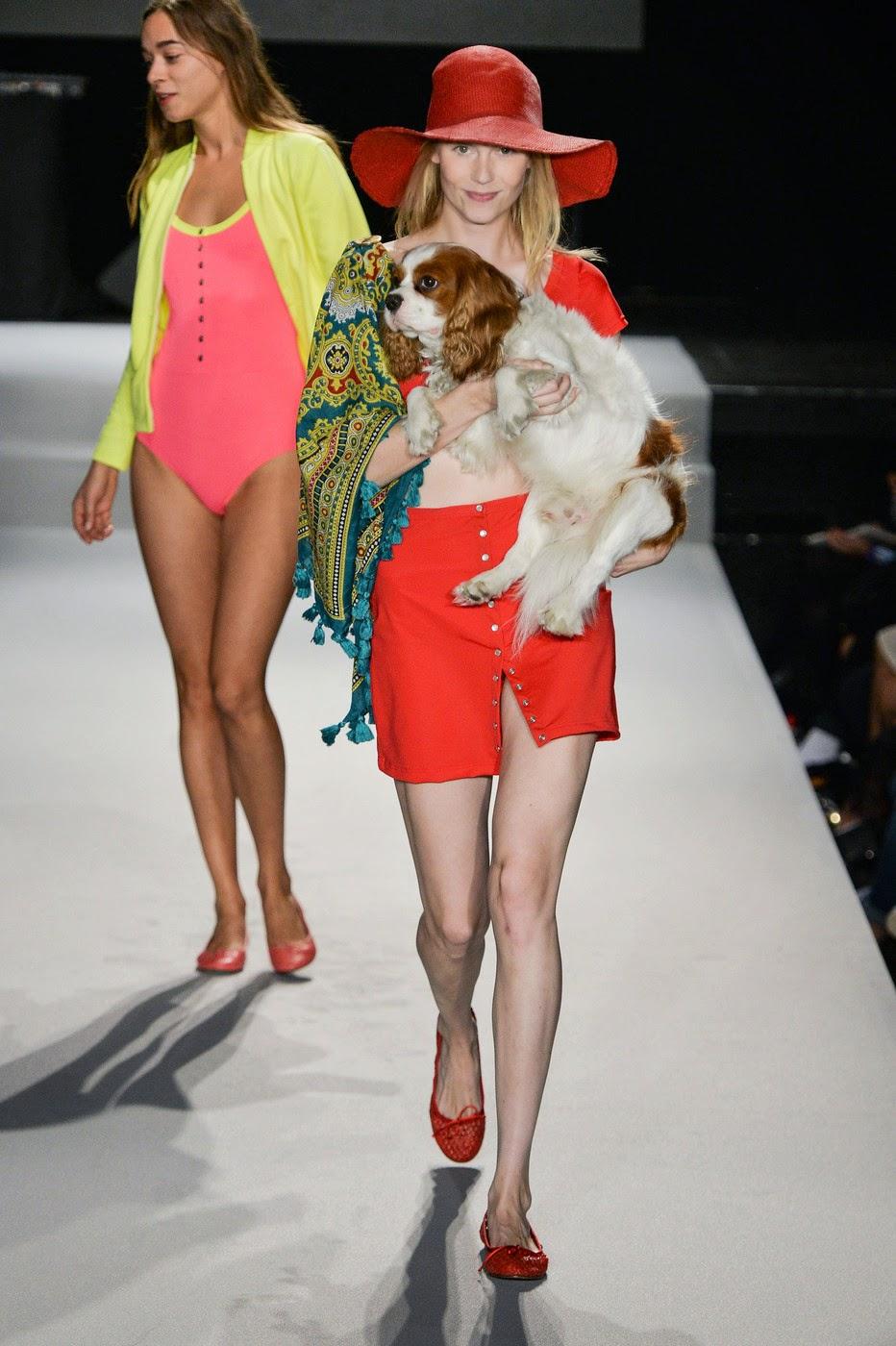 Agnes b fashion show 55