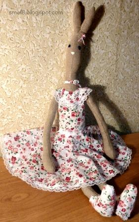 Шьём платье для тильды
