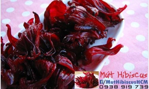 Mứt hibiscus (mứt hoa hồng ,atisô đỏ ,...) 100% từ thiên nhiên.