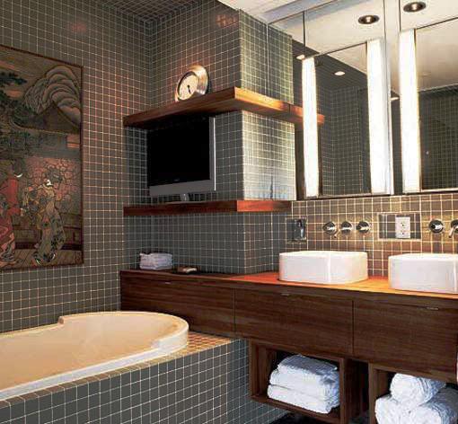 Interjeras vonia apartamentams ir butams for Bathroom ideas for guys