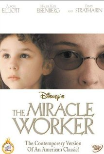 How would I go about writing an essay on The Miracle Worker along these lines?