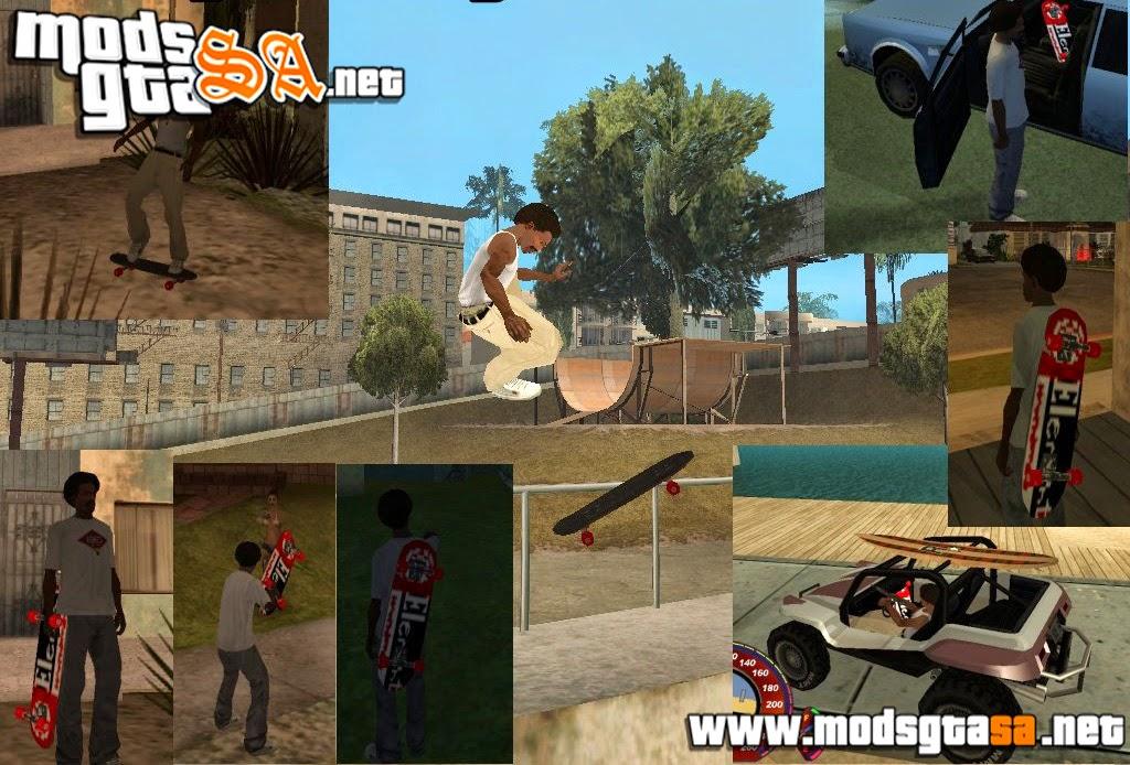 SA - Mod Andar de Skate