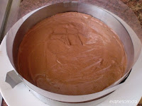 molde con mousse chocolate