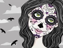Sugar Skull Girl Drawing Tumblr