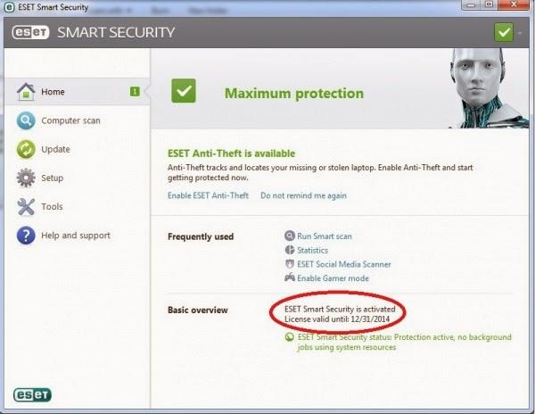 ESET Smart Security 7.0.317.4 Final Full version.