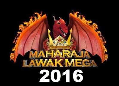 maharaja lawak mega 2016, maharaja lawak mega