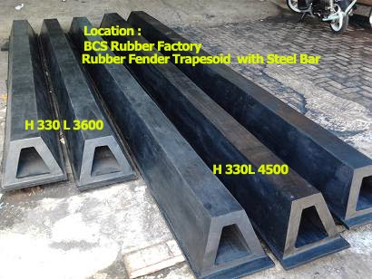 Rubber Fender BCS Rubber Industry,Rubber Fender Trapezoid