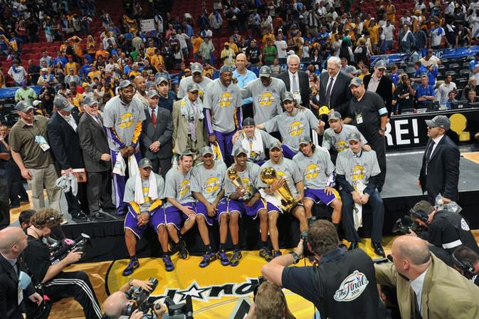 2009 NBA Finals - Lakers - Champions