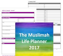 Free Muslimah Life Planner 2017