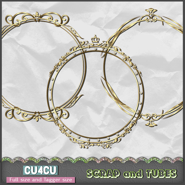 Royal Frames (FS/TS/CU4CU) .Royal+Frames_Preview_Scrap+and+Tubes