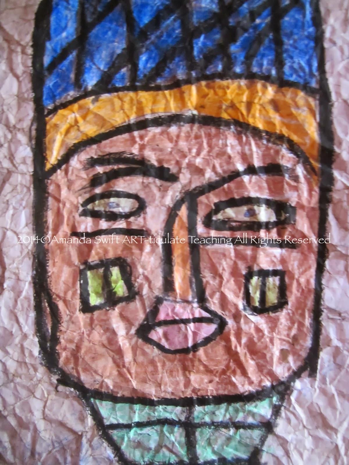 african paper art