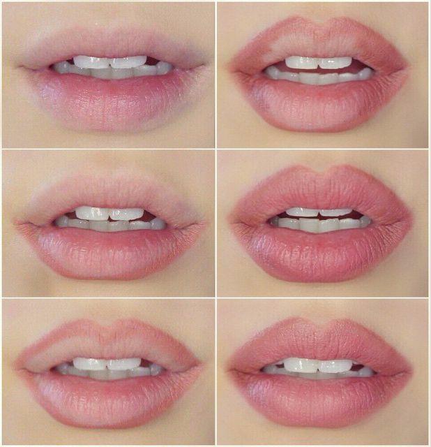 Natural Looking Pink Lips