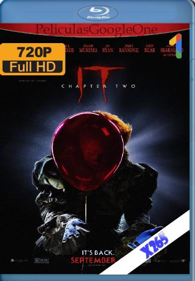 It Chapter 2 (2019) x265 [720p] [Latino] [GoogleDrive]