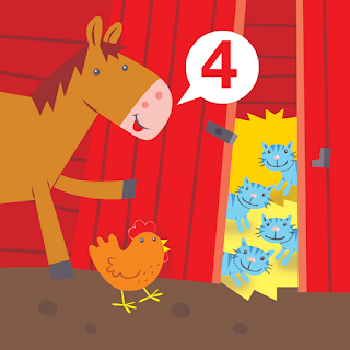 horse and hen count four cats