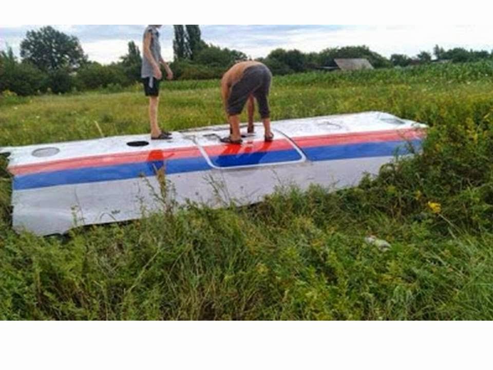 Terkini | Gambar-Gambar Mangsa dan Pesawat MH 17