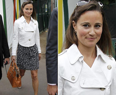 image 1 for pippa middleton at the french open gallery 958410301 Pippa Middleton looks ace in daring top at French Open