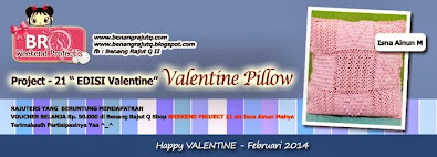 WEEKEND PROJECT 21 - Valentine Pillow
