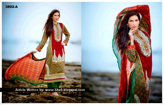 Tawakkal Embroidered Lawn 2015