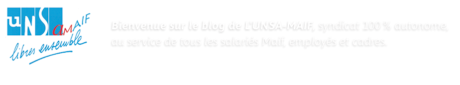 Blog du Syndicat UNSA-MAIF